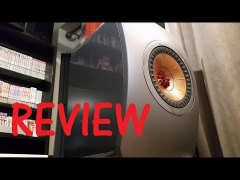 Stereo - KEF LS50 stereo speaker review. Hype or really good?