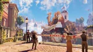 (18+) PC Crossfire HD 7850 2Gb - BioShock Infinite Gameplay 2 - Ultra 1080p Gameplay Benchmark