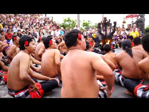 Kecak Dance Vid thru the eye of Fujinon