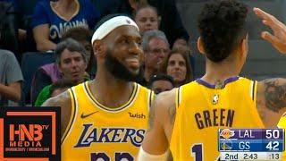 Los Angeles Lakers vs Golden State Warriors - 1st Half Highlights | October 5, 2019 NBA Preseason
