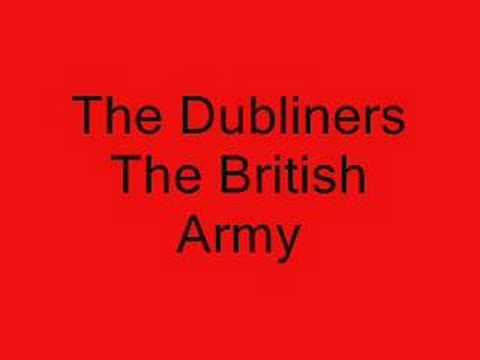 The Dubliners - The British Army