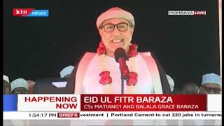 CS Balala's speech during Eid ul-Fitr Baraza in Mombasa