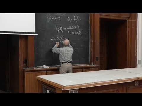 Халилов В. Р. - Теоретическая механика - Рассеяние. Формула Резерфорда