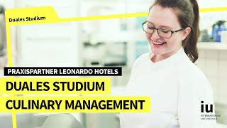 Duales Studium Culinary Management an der IU |  Praxispartner Leonardo Hotels