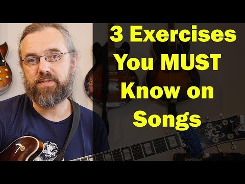 3 Exercises you MUST know on songs - Better than the usual Scales and Arpeggios