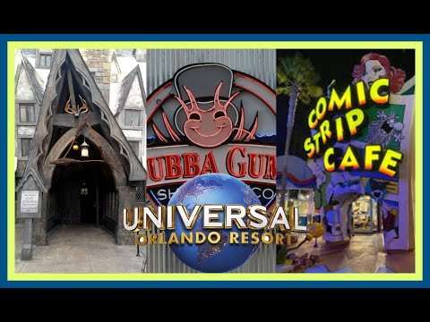 Top 6 BEST Restaurants At Universal Orlando Resort! |Stix Top 6|