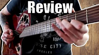 Ovation Mid Depth CE44-Ruby Red Two Year Review
