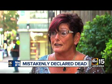Americans mistakenly declared dead...while alive?
