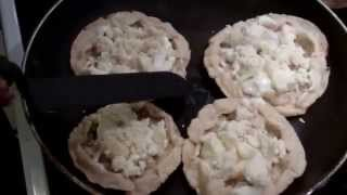 Making Mexican Style Picaditas Or Sopes