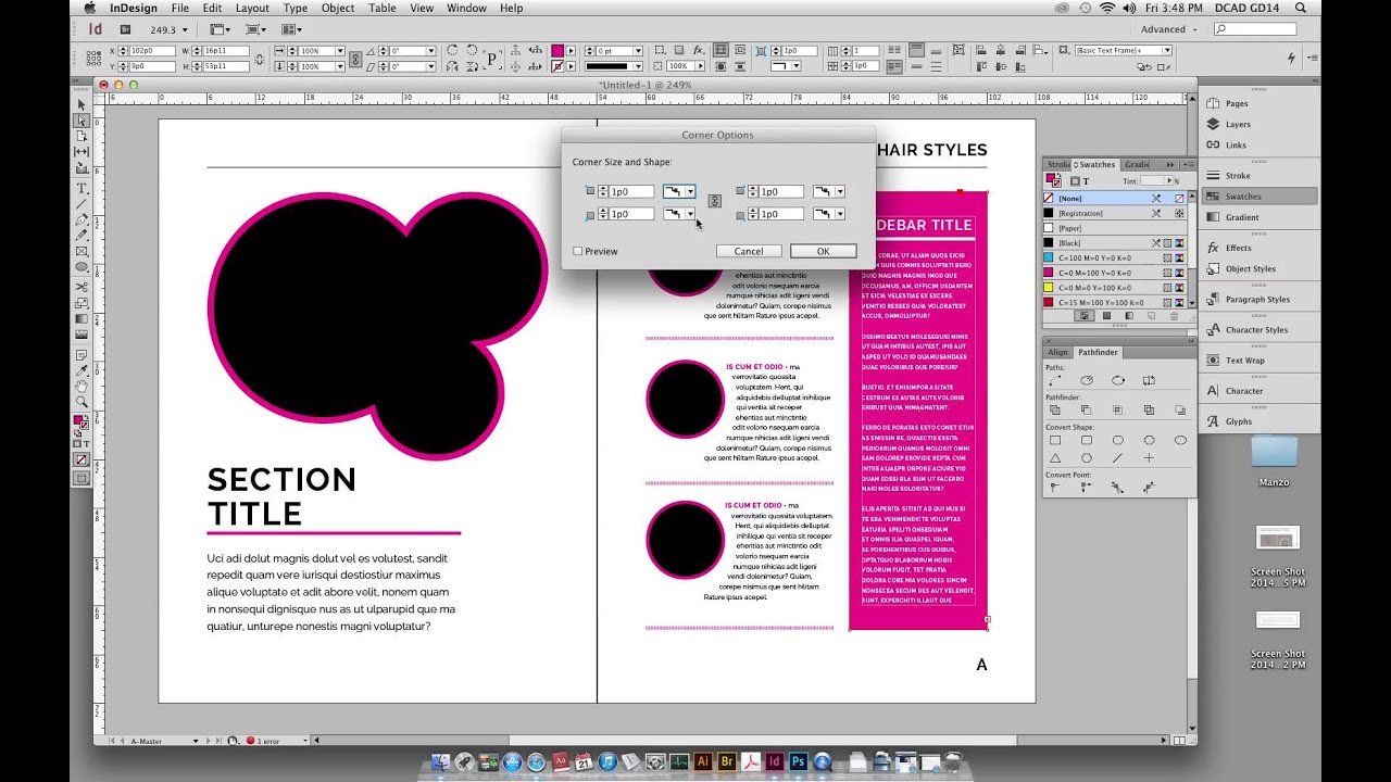 How To Make Book Cover Layout In Indesign : Tutorial indesign book setup youtube