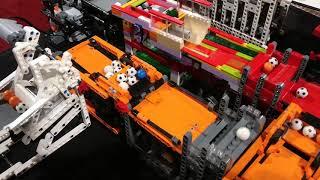 LEGO World NL 2017 Great Ball Contraption GBC circuit