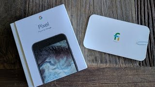 Google Pixel XL Unboxing and Nexus 6P Comparison