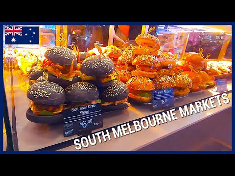 A Virtual Tour Of The SOUTH MELBOURNE MARKET Before The Outbreak! (MELBOURNE MEMORIES 2019)
