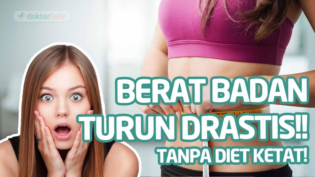 Mau Menurunkan Berat Badan 5 Kg Dalam Seminggu Begini Caranya Youtube