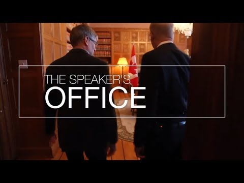 Visit Parliament: Tour the Speaker's Office and apartment