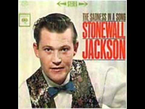 Stonewall Jackson - The Sadness in a Song (with Lyrics)