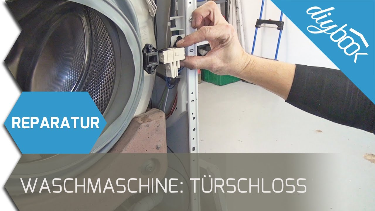 Bauknecht Waschmaschine - Türschloss wechseln - YouTube