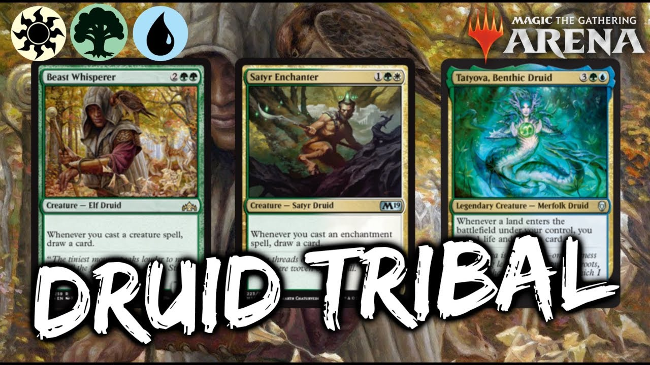 Bant Druidball [MTG Arena] Bant Druid Tribal Deck in GRN Standard