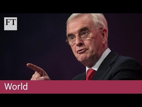 Labour sets out economic plans | World