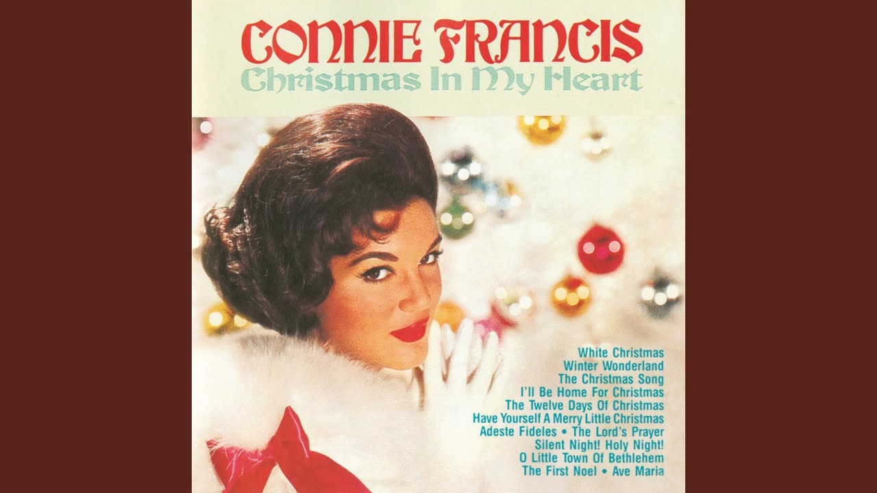 Connie Francis The Twelve Days Of Christmas.New Jersey S Top 10 Christmas Songs Of All Time