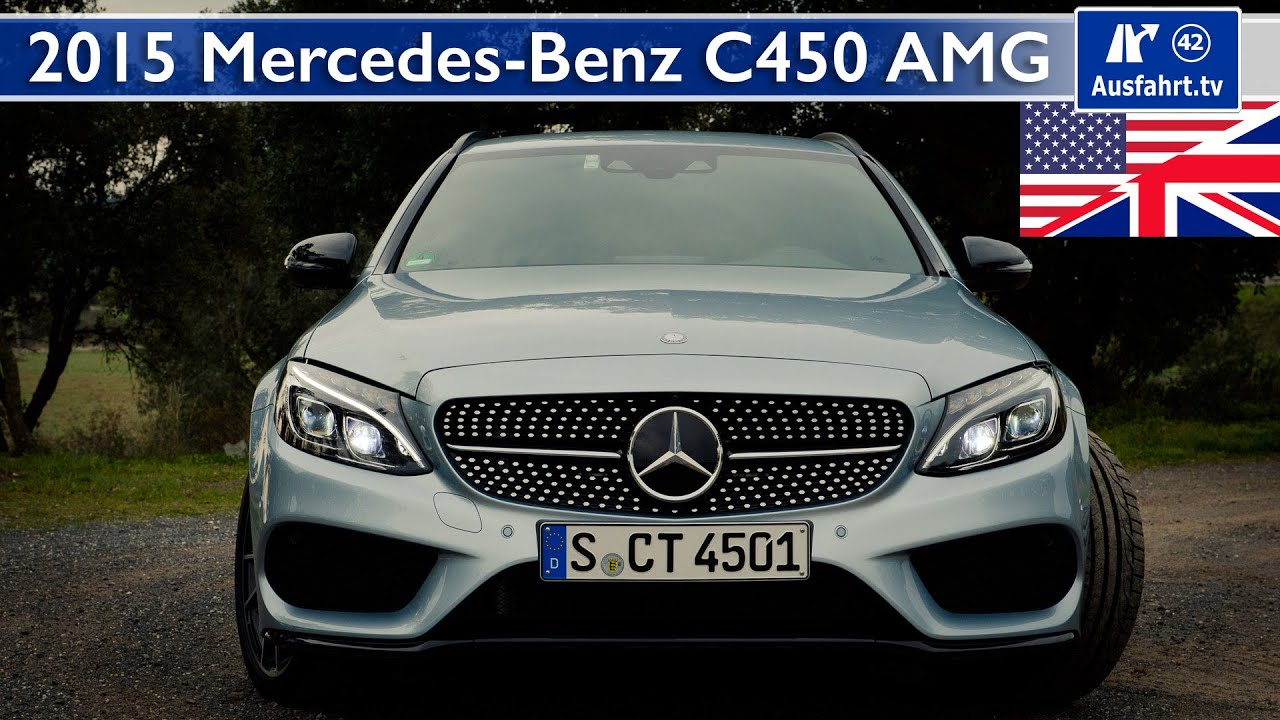 2015 mercedes benz c450 amg s205 test test drive and for Mercedes benz c450 amg review