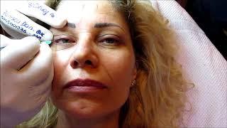 Tatuaj ochi. Galerie cu 2000 video http://www.machiajtatuaj.ro Zarescu Dan $DT M6054