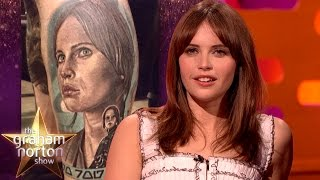 Felicity Jones is Worried About Fan Tattoos - The Graham Norton Show
