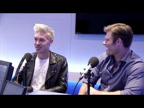Sam Palladio and Chris Carmack: Elton John and bad British accents  Nashville  Magic Radio
