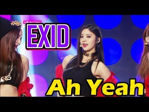 [HOT] EXID - Ah Yeah, 이엑스아이디 - 아예, Show Music core 20150425