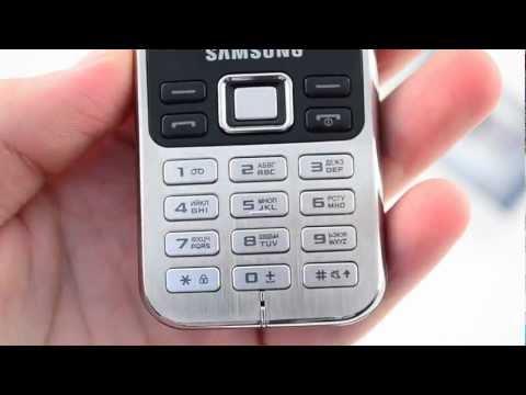 Samsung C3322 - видеообзор ( c3322 duos ) от Video-shoper.ru