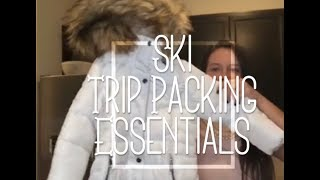 Tips on Packing for Family Ski Trip | What to pack for Ski Trip with Kids