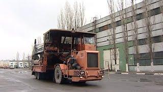В автотранспортном цехе ОЭМК заменили двигатель на шлаковозе