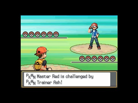 Pokemon Multiverse - Red vs Ash (Kalos team)