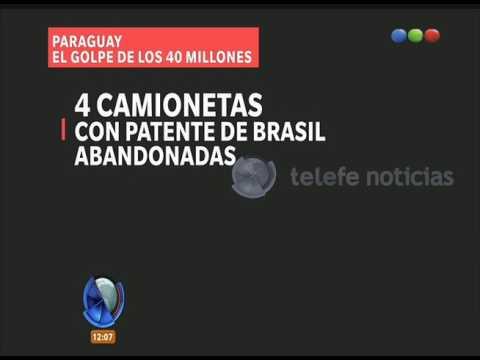 Robo en Paraguay  -Telefe Noticias