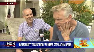 Cory's Corner: JW Marriott Desert Ridge summer staycation deals