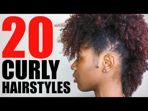 20 CURLY NATURAL HAIRSTYLES for Black Women