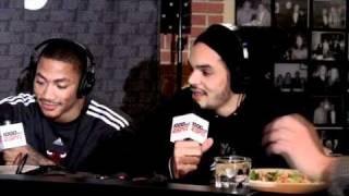 Joakim Noah is NOT a fan of Kevin Garnett