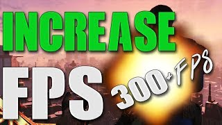 How To Increase FPS in ALL Games (2017) ~ MASSIVE FPS GAINS + FPS Drop Fix! + More! (Really Easy!!)