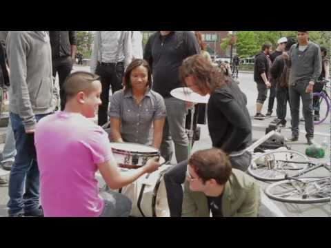 "Matt and Kim - Behind the Scenes of ""Block After Block"""