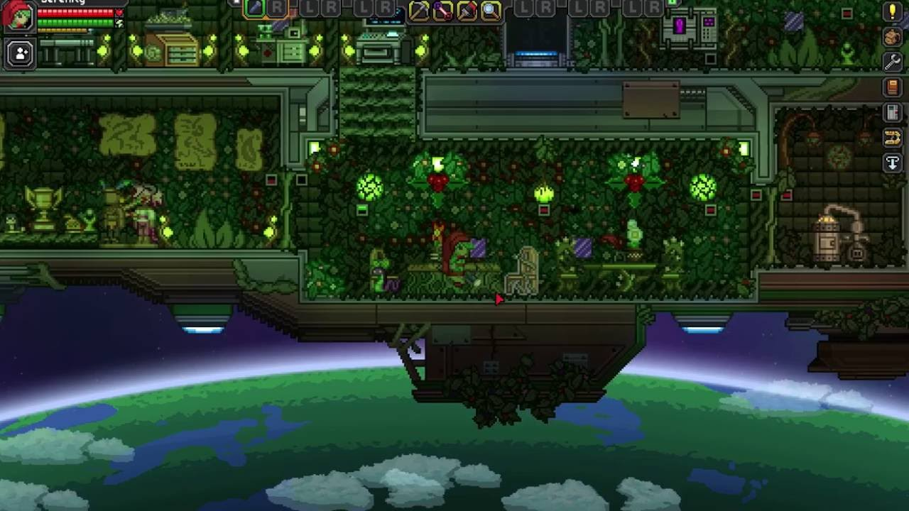 Starbound Floran Ship 111 Youtube