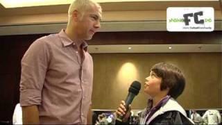 Sergej Barbarez Interview, Tag der Legenden 2010