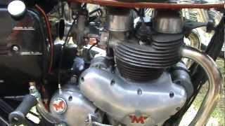 MATCHLESS G9 500cc G12 650cc CSR STATIC DISPLAY WITH M18 G80 500cc SINGLES