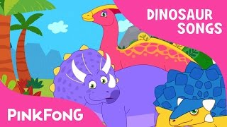 Triceratops | Who Am I? | Dinosaur Songs | Pinkfong Songs for Children