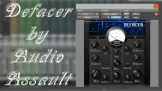 What is Audio Assault Defaced Free Audio Mangler?