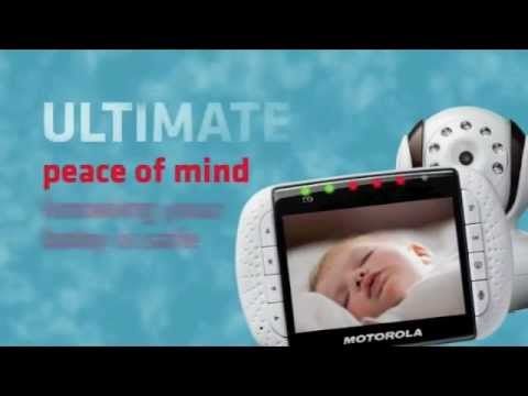 Motorola MBP36 WIRELESS BABY Digital Video CAMERA Monitor