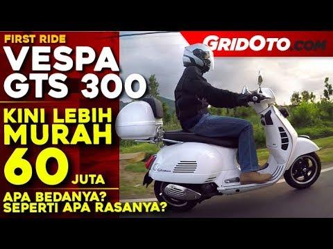 Vespa GTS  l Touring Ride Review l GridOto