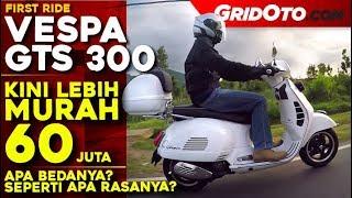 Vespa GTS 300 l Touring Ride Review l GridOto