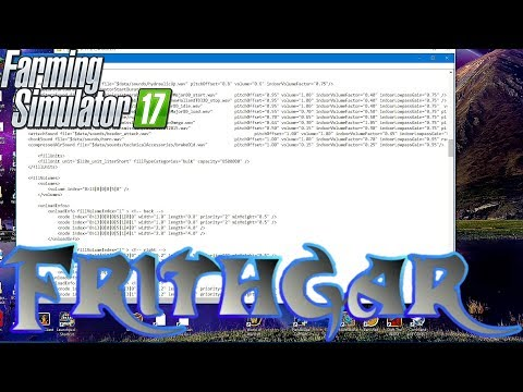 FS17 How To Install Mods And Change Vehicle XML Files!