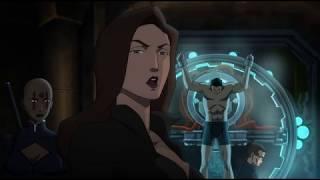 Талия Аль Гул убивает Еретика (Бэтмен: Дурная кровь 2016)