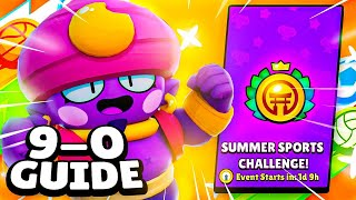9-0 Summer Sports Challenge Guide   Best Brawlers & Tips